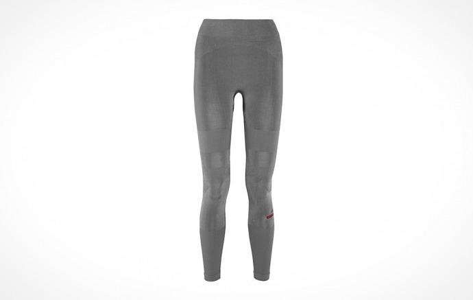 Adidas By Stella Mccartney - Yoga Stretch-Jersey Leggings - Anthracite